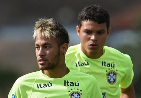 Thiago Silva Kembali, Neymar Tetap Kapten