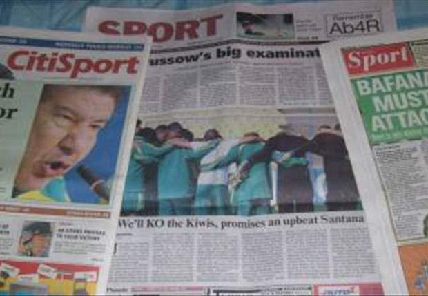 Confederations Cup Special: South African Media Put Pressure On Bafana