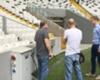 Vodafone Park UEFA inspection