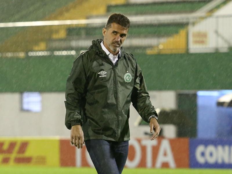 Chapecoense sack Vagner Mancini just seven months into rebuild
