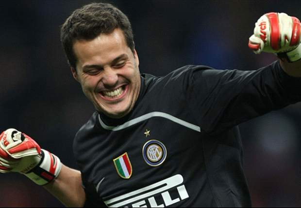 Inter's Julio Cesar Denies His Wife's Internet Transfer Revelation