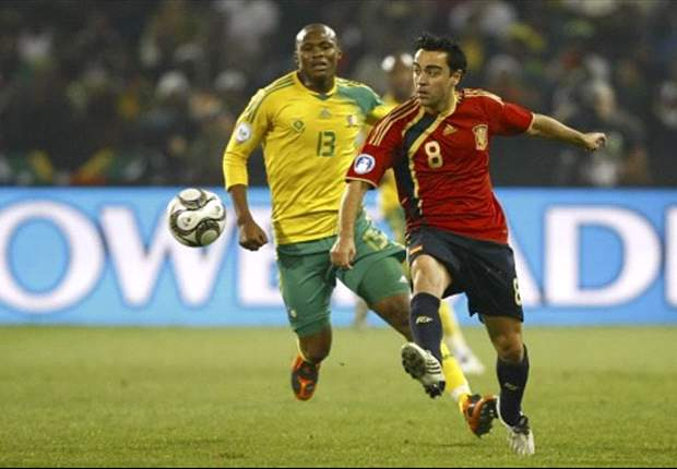 World Cup 2010: South Africans Kagisho Dikgacoi & Sboniso Gaxa Pleased With World Cup Draw