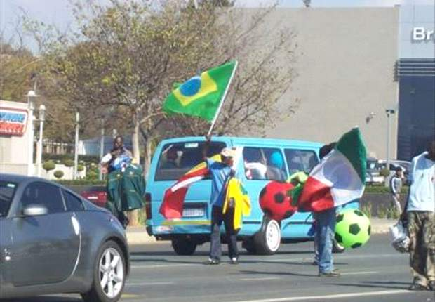 Confederations Cup: Street Vendors Get In On The Act
