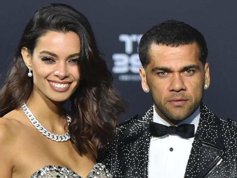 Dani Alves marries Spanish model Joana Sanz in secret Ibiza wedding