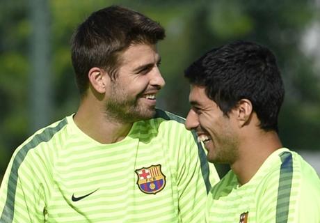 Piqué tegen Suarez: