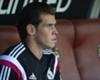 Gareth Bale es baja en Granada, y Pepe y Luka Modric son dudas