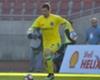 Agustín Orion vivió un doloroso debut oficial