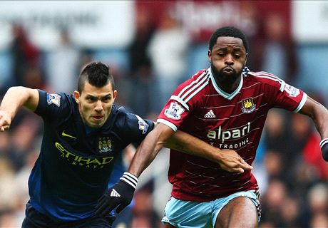 FT: West Ham 2-1 Manchester City