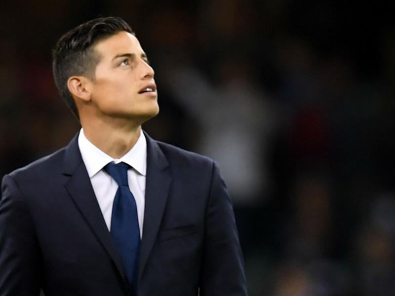 Le Bayern Munich fait une faute d'orthographe pour James Rodriguez