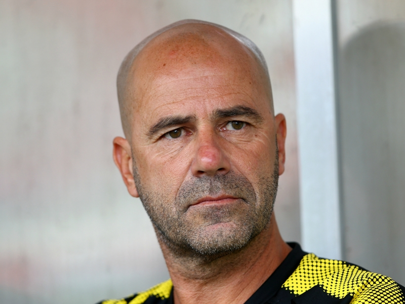 Aubameyang on target as Dortmund beaten by fourth-tier side on Bosz's bow