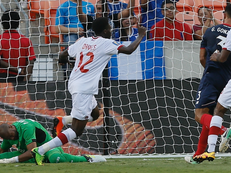 Costa Rica 1 Canada 1: Davies scores again in Gold Cup draw