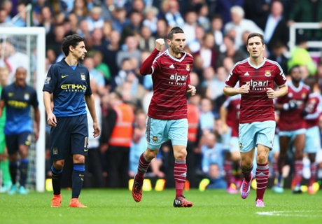 West Ham 2-1 Man City: Deserved win