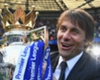Chelsea manager Antonio Conte with the Premier League trophy