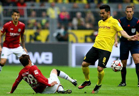 Gifbeker Dortmund moet helemaal leeg