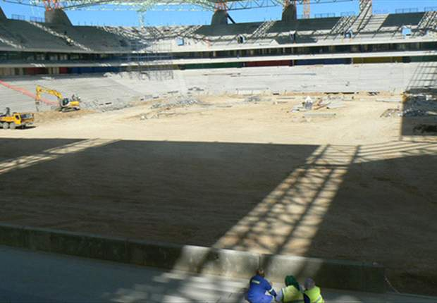 Special: Nelspruit's Mbombela Stadium - An 'African' Arena Fit For The 2010 World Cup