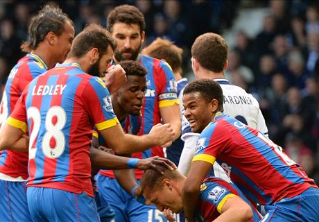 LIVE: West Brom 1-2 Crystal Palace
