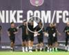 VÍDEO: Deulofeu y Rafinha, únicas ausencias en el estreno de Valverde en Barcelona