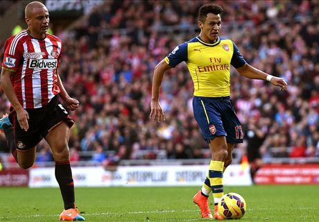 Alexis strikes for Arsenal - LIVE
