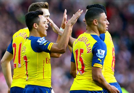 Sanchez Brace Leads Arsenal