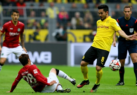 Laporan Pertandingan: Borussia Dortmund 0-1 Hannover 96