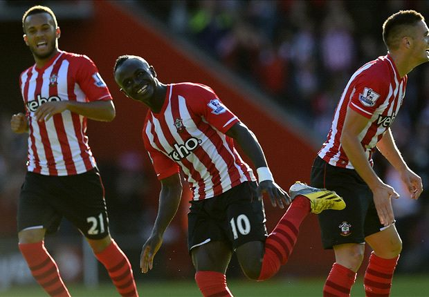 Southampton 1-0 Stoke City: Mane strike moves Saints up to second