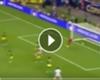 VIDEO: Cubo manda pelota al poste