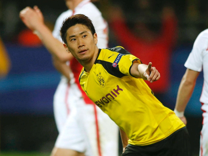 Kagawa signs Borussia Dortmund extension