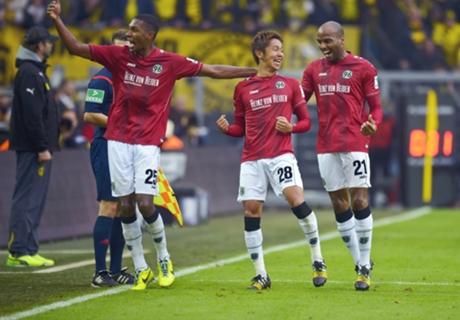 Dortmund 0-1 Hannover: Pressure on Klopp