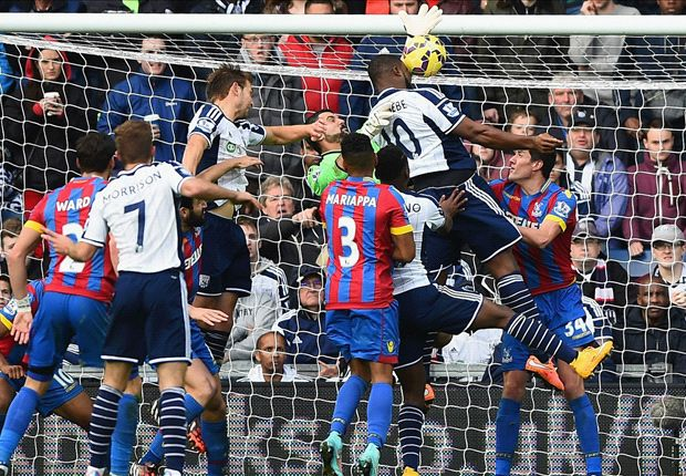 West Brom 2-2 Crystal Palace: Late Berahino penalty rescues point