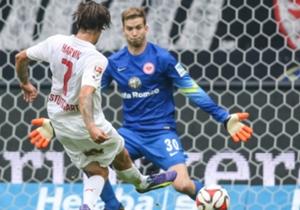 Stuttgart menang dalam partai hujan gol di Frankfurt.