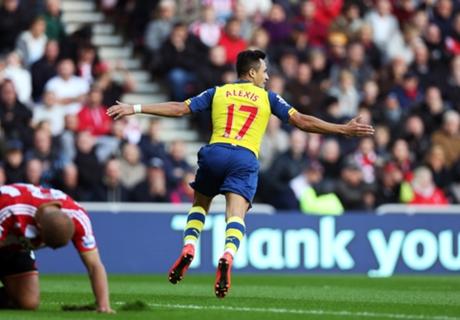 Sunderland 0-2 Arsenal: Sanchez double