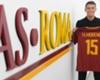 Roma le dio la bienvenida a Héctor Moreno