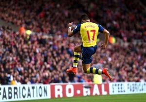 Alexis Sánchez anotó los dos goles en el triunfo de Arsenal ante Sunderland. (Foto: Getty)