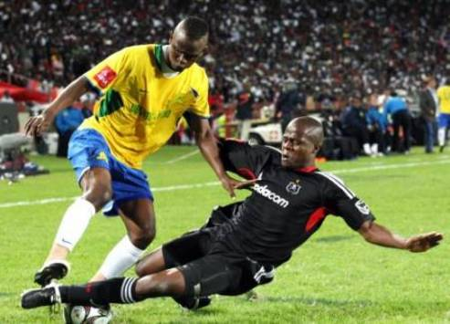 Mamelodi Sundowns vs Orlando Pirates - Siboniso Gaxa - Lucas Thwala