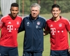 James: Ancelotti no le promete nada y Müller le ofrece su respeto