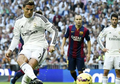 Ronaldo on target as Barca beaten