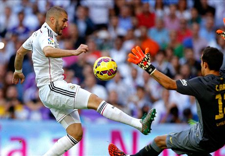 Benzema gets in on the act - LIVE