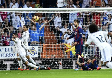 Résumé de match, Real Barça (3-1)