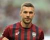 Podolski não tira o Fla da cabeça