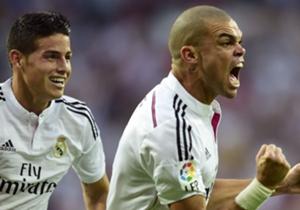 Pepe's goal was just the beginning for Real Madrid as they began to dominate