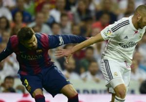 Gerard Pique zog gegen Real Madrid oft den Kürzeren