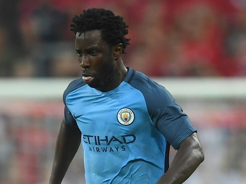 VIDEO: Man City outcast Bony training alone after being left in England
