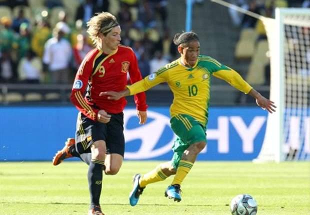 Em jogaço, Espanha supera África do Sul por 3 a 2 na prorrogação