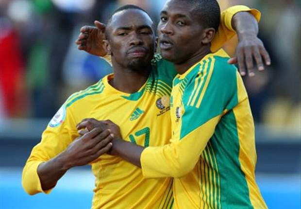 Linking up? Katlego Mphela could be playing with Bernard Parker in 2014