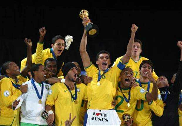 B is for Brazil - the Selecao lifted the Confederations Cup in 2009