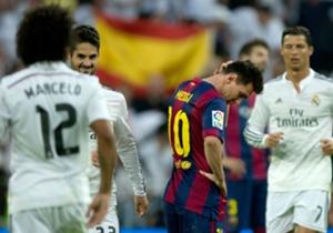Contrastes II. Real Madrid es alegría. Leo, triste por la primera derrota de Barcelona en La Liga.