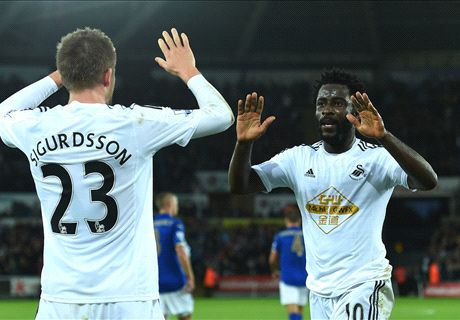 Swansea relieved to end winless run