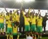 Bafana Bafana lift the Nelson Mandela Challenge trophy