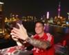 James disfruta de la gira por China