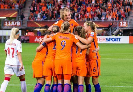 Oranje Leeuwinnen verslaan Deense dames
